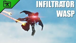 The Infiltrator Wasp | Halo 5 Prefab Spotlight
