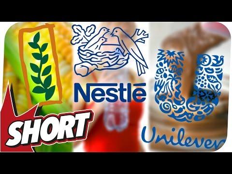 Diese Firmen bestimmen heimlich unser Leben! Monsanto, Nestlé und Unilever