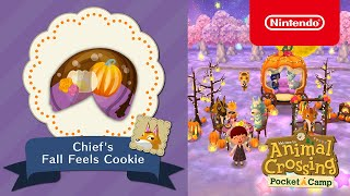 Animal Crossing: Pocket Camp - Chief's Fall Feels Cookie