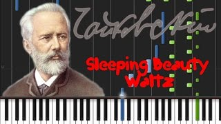 Tchaikovsky - Sleeping Beauty (Waltz) op.66 [Synthesia Tutorial]