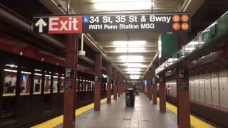 NYC Subway Last Look: (Q) Station Signage Series: 34th Street-Herald Square