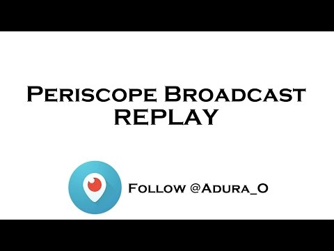 Periscope Broadcast REPLAY -- RUNNING TIPS
