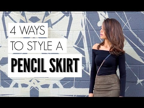 4 Ways to Style Pencil Skirt - KeepItCaro