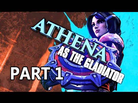 Borderlands: The Pre-Sequel Walkthrough Part 1 - Athena the Gladiator (PC 1080p Gameplay)