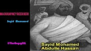 Gabay| Sayid Maxamed Cabdulle Xasan| Ma duqaynay Reer Bari