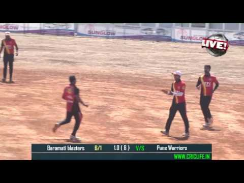 Pune Warriors V/S Baramati blasters | PTPL 2017 | SUPER SIX | Day 9