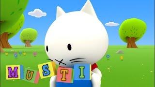 Cartoon | Musti Englisch | 109 | Mister Rabbit Neffen | Karikatur für Kinder