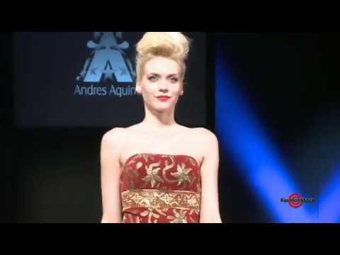 Andres Aquino FW 2011- Couture Fashion Week - Runway Show