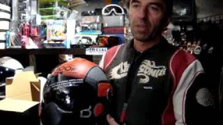 Roof Boxer V8 Helmet Demo - Roof Boxer V8 Motorcycle Helmets At Gorgeousbikes