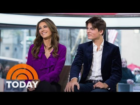 Elizabeth Hurley's Son Shares Her Acting Advice, Talks 'The Royals' | TODAY