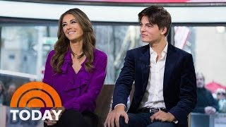 Elizabeth Hurley's Son Shares Her Acting Advice, Talks