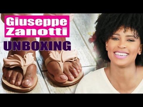 Giuseppe Zanotti Cruel Sandal | Unboxing