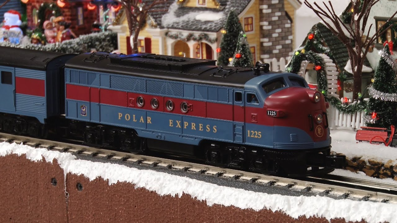 Polar Express Streamliner Youtube
