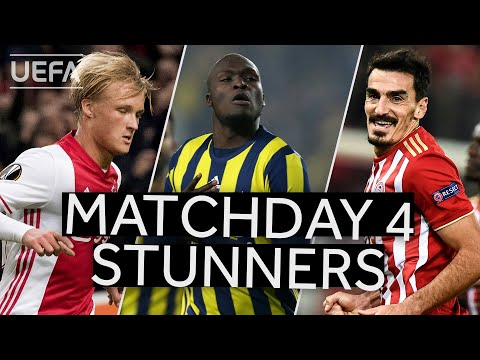 DOLBERG, SOW, CHRISTODOULOPOULOS: Classic #UEL Matchday 4 GOALS!