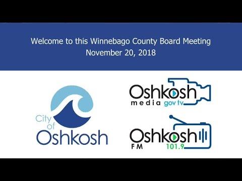 Winnebago County Board - 11/20/18