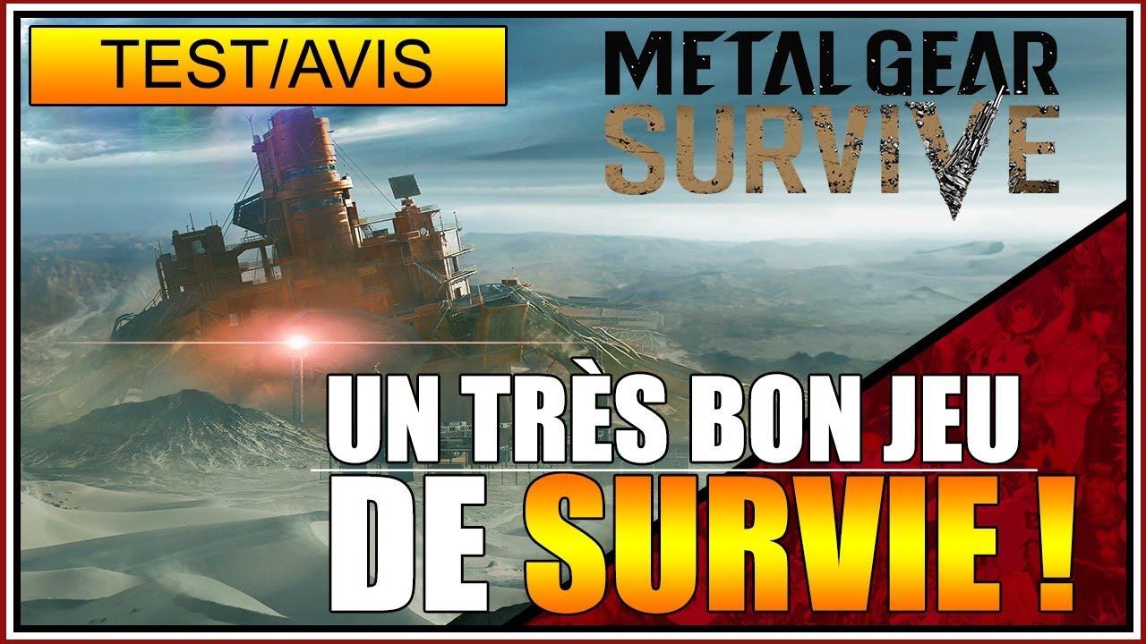 TEST/AVIS - UN TRÈS BON JEU DE SURVIE - METAL GEAR SURVIVE - FR