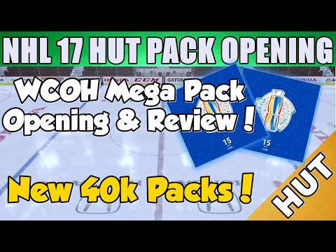 World Cup Mega Packs Opening & Review!  - NHL 17 HUT - Hockey Ultimate Team - New 40k Packs!