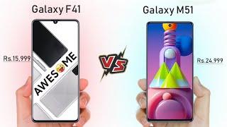 Samsung Galaxy F41 Vs Galaxy M51 - Full Speed Comparison || Which is Best