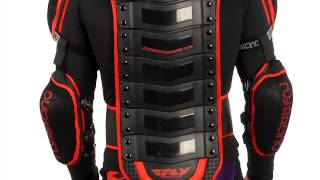 2014 FLY Barricade Body Armor Long Sleeve Motocross ATV Dirt Bike Chest Protector