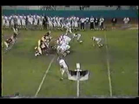 Tom Brady to John Kirby-Serra High 1994-Record Breaking Game