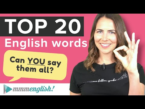 How to Pronounce the MOST Common English Words   Say Them NATURALLY!