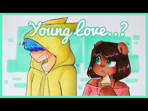 YOUNG LOVE..? - drawing my ocs