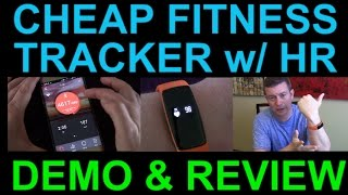 Inexpensive Fitness Tracker Heart Rate SMS Sleep Tracking More - Wave HR by RIVERSONG