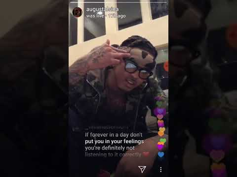 August Alsina Live Listening Party for EP ForeverandADay Mp3