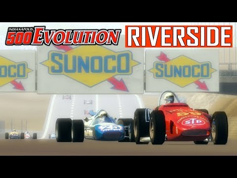 RIVERSIDE -- Indianapolis 500 Evolution -- 1965 Riverside 300 -- SEASON FINALE
