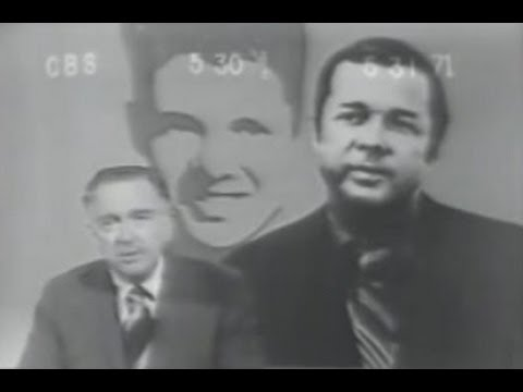 Audie Murphy Announcement of Death (NBC, ABC, and CBS)
