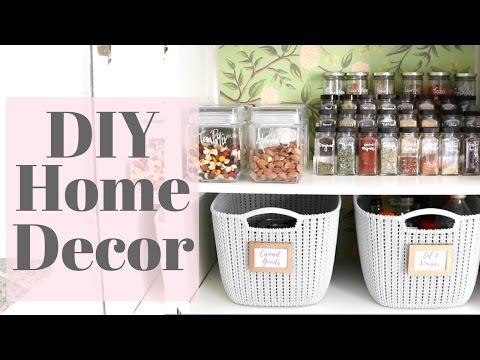Home DIY Tutorial - My Pantry Makeover