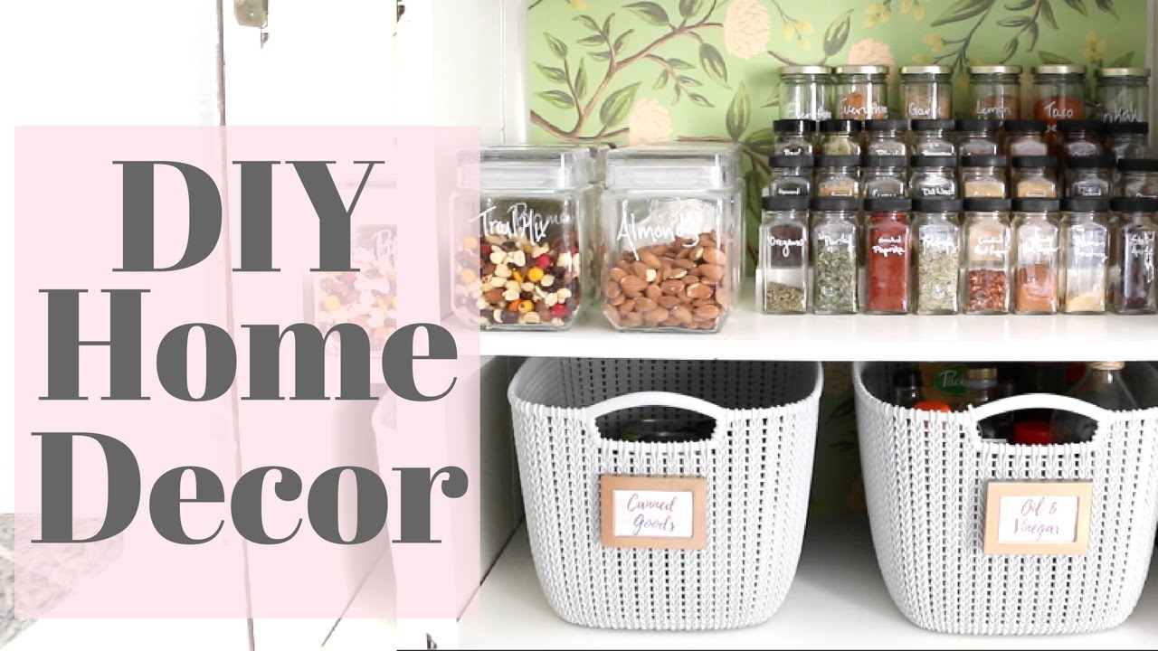 Kitchen Pantry Diy Projects: My Pantry Makeover