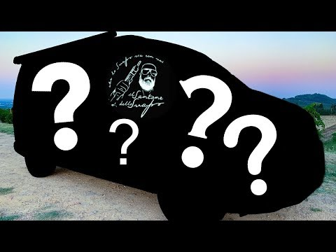 Wrapping T6 California Ocean - From Camper to OB Van - Part1 - Car Wrapping Riccione -