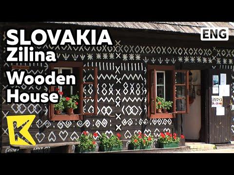 【K】Slovakia Travel-Zilina[슬로바키아 여행-질리나]치치마니 마을의 나무 집/Wooden House/Cicmany Village/UNESCO/Symbol