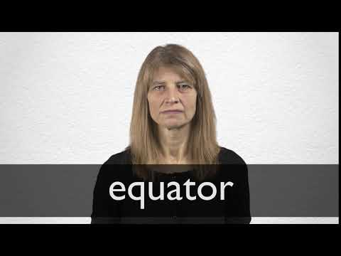 Equator definition and meaning   Collins English Dictionary