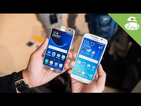 Samsung Galaxy S7 vs Galaxy S6 Hands On Comparison