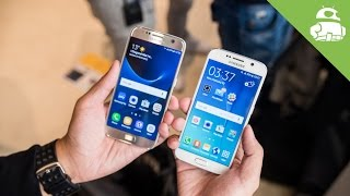 Samsung Galaxy S7 vs Galaxy S6 Hands On Comparison
