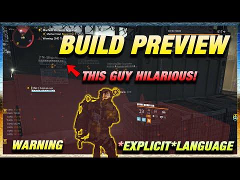 BUILD PREVIEW EXPLICIT HIP HOP AND DZ ACTION LOL   The Division 2