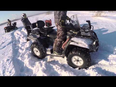 Покатушки по снегу