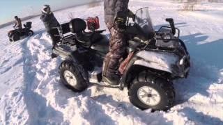 Покатушки по снегу на квадриках(снег для кадра в больших количествах противопоказан., 2015-02-01T16:53:49.000Z)