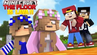 Download Minecraft Adventure - PRANKS - THE FLOOR IS LAVA!! Mp3 and Videos