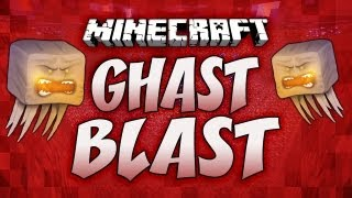 Minecraft: GHAST BLAST | w/ Dumb and Dumber