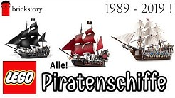 Alle LEGO Segel- und Piratenschiffe von 1989 - 2019! | Pirates, The Movie und Herr der Ringe