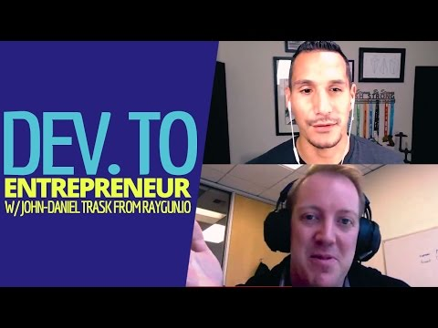 Going From Developer To Entrepreneur (With John-Daniel Trask From Raygun.io)