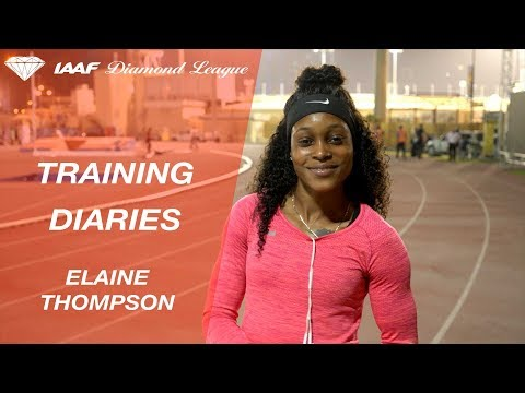 Training Diaries Doha 2018: Elaine Thompson
