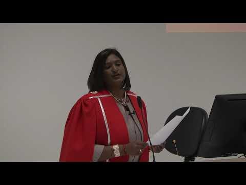 Prof Pregala Solosh Pillay Inaugural Lecture Stellenbosch University 10th August 2017  Part One