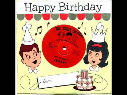 The 3 Stooges Happy Birthday Record Youtube