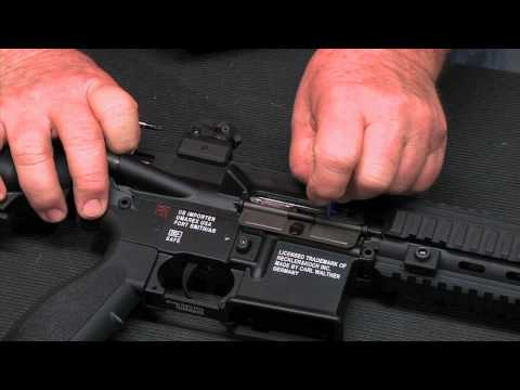 Walther Arms - HK 416 .22 Field Stripping