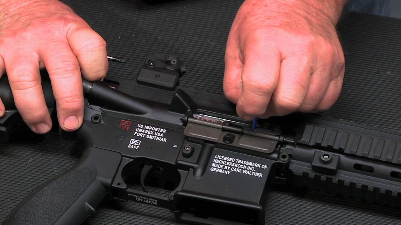 Walther Arms - HK 416  22 Field Stripping