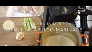 Quick Chicken Mole Recipe
